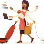 Etre une femme et travailler à la maison
